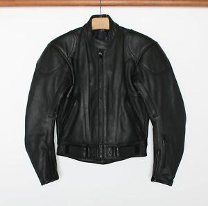 Sz en cuir Hjc moto noir 6 8 femmes Veste de tOqp0
