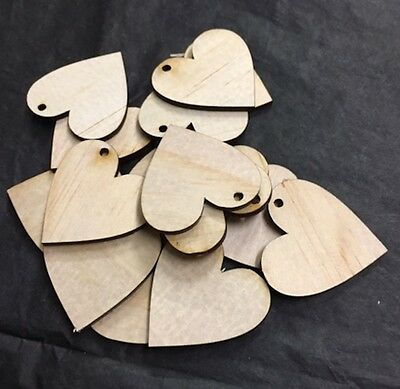 house Wooden craft shapes 6cm X 6cm X 3mm Thick x 15.