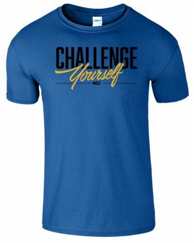 Challenge Self Kids T-shirt Gaming Youtuber Savage Gamer Boys And Girls Top Tee