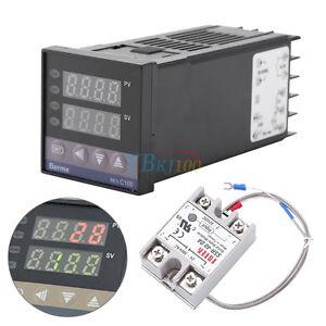 REX-C100-Digital-PID-Temperature-Controller-Regulator-K-Thermocouple-40A-SSR-st4