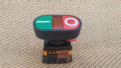 Momentary N//O Power Station Pushbutton Push Switch OFF-ON CONTROL 10A  600V 22mm