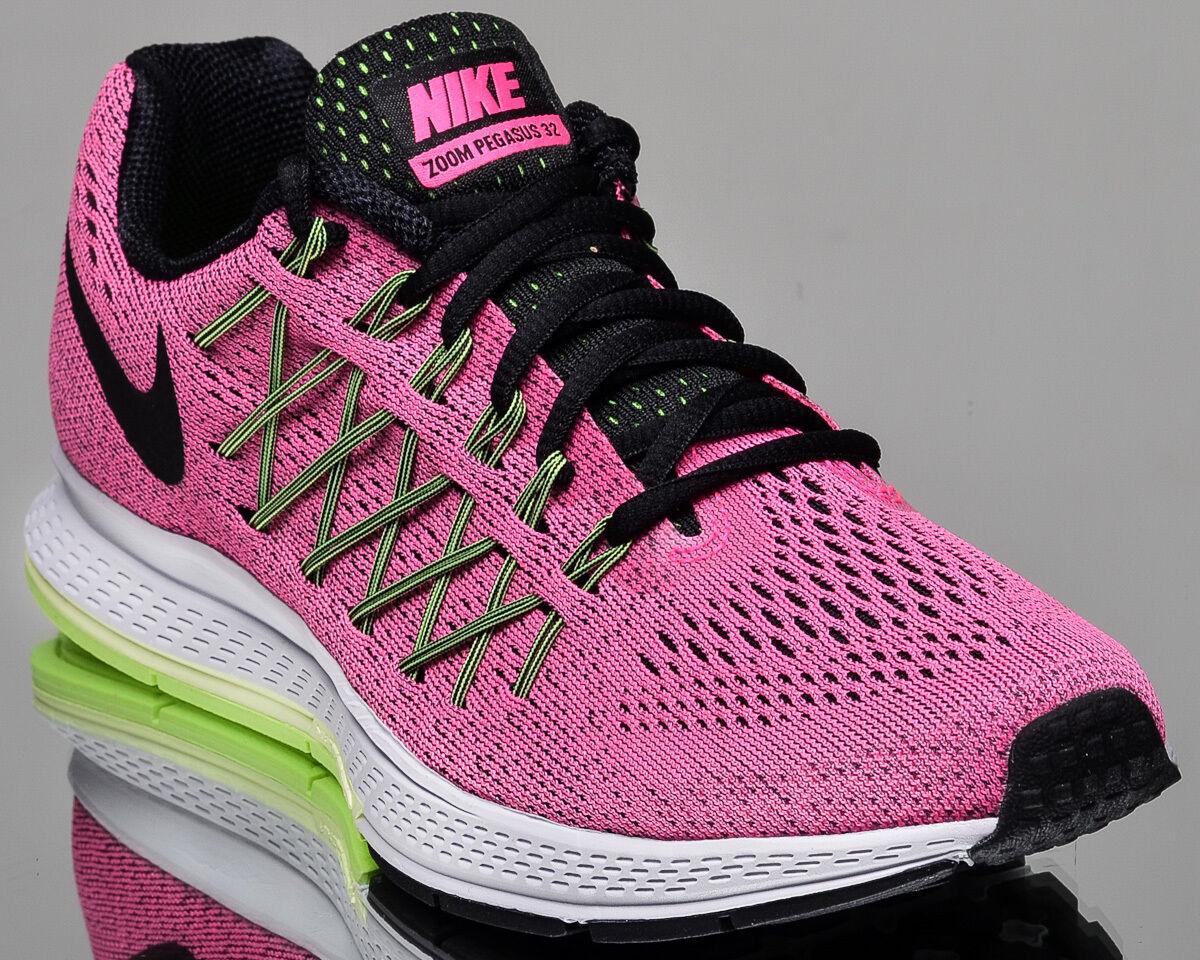 pretty nice 8ab79 9abe6 Nike Mujeres Air Air Air Zoom Pegasus 32 Mujer Running Correr Zapatillas  Nuevo Rosa Pow Negro