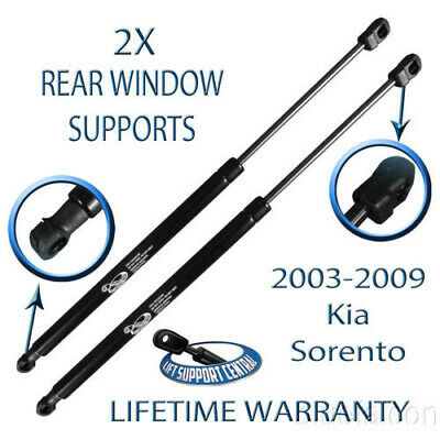 2 Two Front Hood Lift Supports Shock Prop Arm Rod For 08-15 Vue Captiva Sport