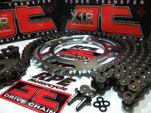 NEW JT  X-Ring /'01//05 KAWASAKI ZR1200A ZRX1200R CHAIN AND SPROCKET KIT *PREMIUM