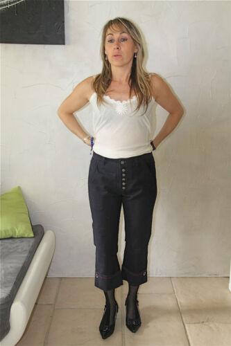 pantacourt jeans denim M/&F GIRBAUD next boyfriend T 42 31 NEUF ÉTIQUETTE