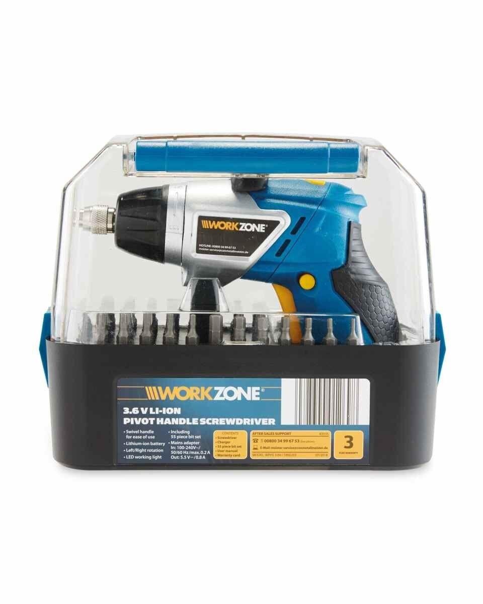 Aldi workzone cordless screwdriver in wall bluetooth speaker system