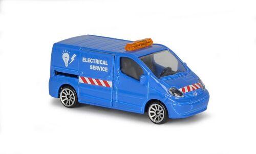 Majorette 212057500-City Cars-Renault Trafic-Electrical Service-nuevo