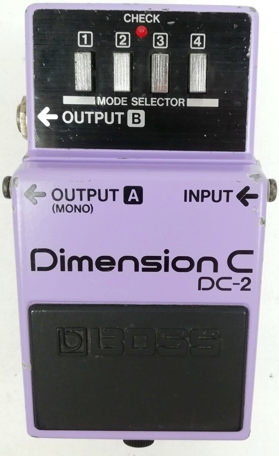 BOSS DC-2 Dimension C Guitar Effects Pedal Made in Japan 1985  K49 Free Shipping