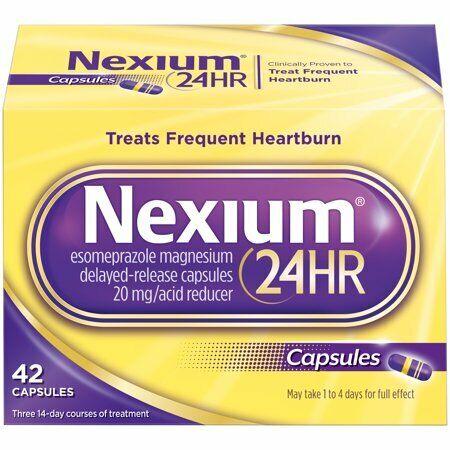 Nexium 24HR Capsules, 42 Count Heartburn relief 5