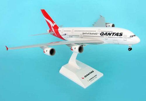 Qantas airways airbus a380-800 1:200 nuevo skymark skr365 avión modelo a380