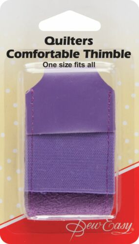 Sew Easy Quilters Comfortable Leather Thimble