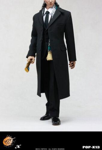 1/6 Scale Pop Toys The Avengers Loki Windbreaker Suit & Odin Gungnir Staff