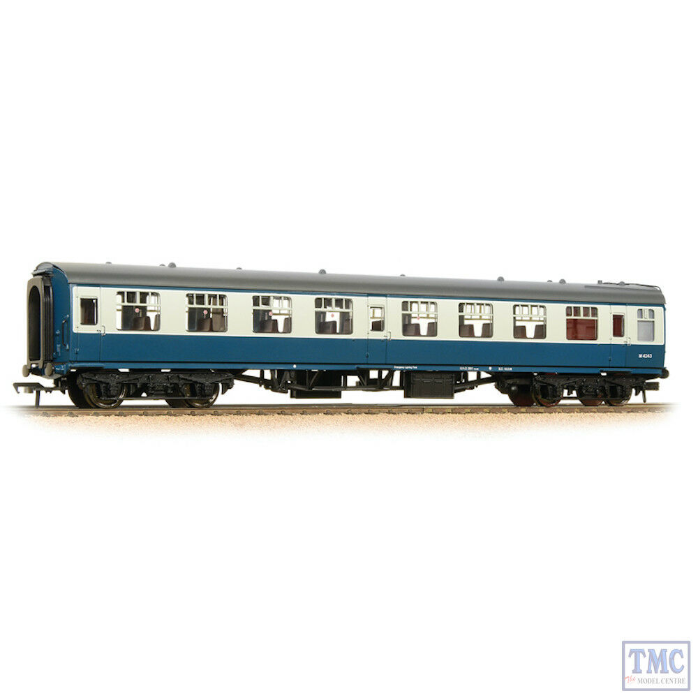 39-050D Bachmann OO BR Mk1 SO Second Open bluee & Grey