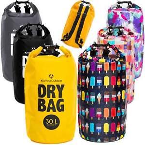 Drybag / 100% wasserdichte Tasche aus PVC - Seesack Packsack
