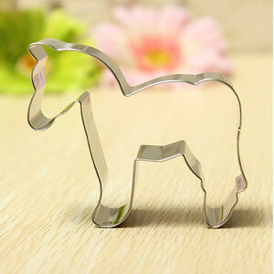 1x-Stainless-Steel-Horse-Shape-Cookie-Cutter-Fondant-Cake-Mold-Sugarcraft-Tool