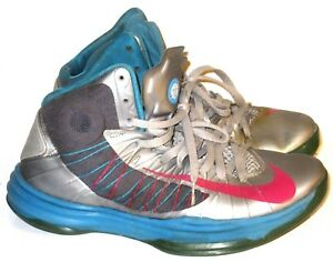 reputable site c9871 a2dbe Image is loading Nike-Lunar-Hyperdunk-2012-Wolf-Mens-Gray-Teal-