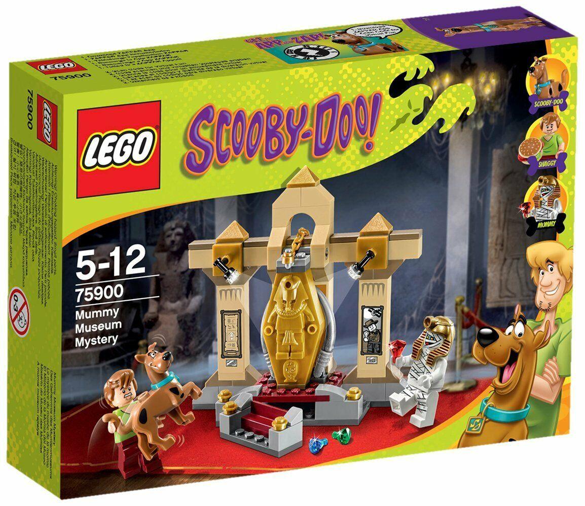 LEGO 75900 Scooby Doo Mummy Museum Mystery Set - Brand New In Box