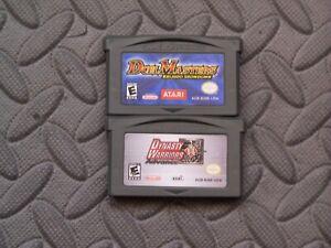 Lot Nintendo Game Boy Advance GBA Games Duel Masters: Kaijudo Showdown + Dynasty