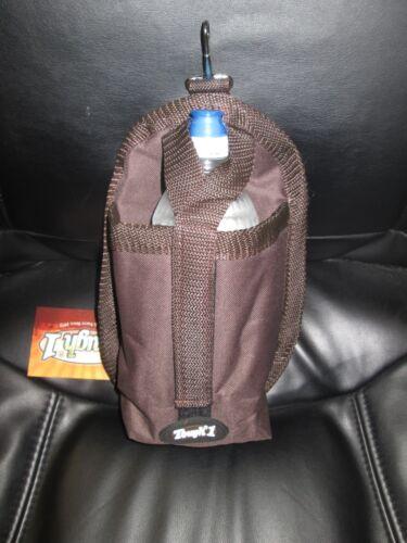"NEUF 6.5/"" X 11/"" 1 Snap on Water Bottle Carrier-Marron Tough"