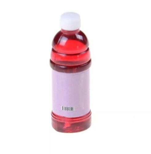 "Dollhouse 4 Miniature Juice Bottles Lot 1:12 Scale 1.5"" US Seller"