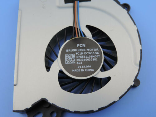 Original CPU Cooling Fan For HP Envy 17-j115cl 17-j117cl 17-j120us 17-j127cl