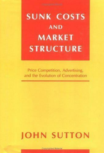 Sunk Costs and Market Structure: Price Competition, Advertising, and the Evoluti