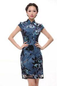 Kleid seide china