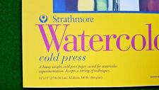 360-111 300 Series Watercolor Pad 11x15 12 Sheets Strathmore
