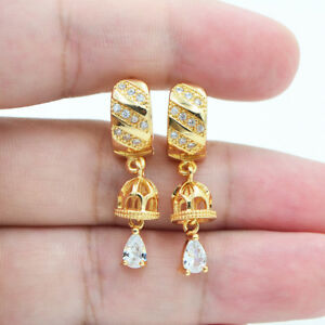 18K-Yellow-Gold-Filled-Mystical-Hollow-Topaz-Zircon-Women-Hoop-Earrings-Party