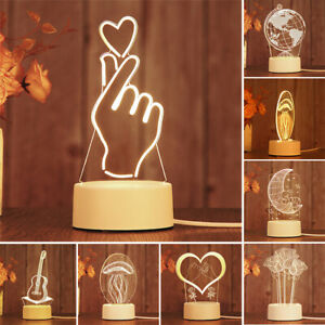 3D-LED-illusion-Charging-USB-Table-Nuit-Lumiere-Bureau-Lampe-Chambre-Enfant-Gift