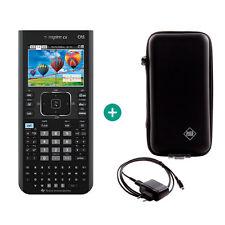 TI Nspire CX CAS Taschenrechner Grafikrechner + Schutztasche und Ladekabel