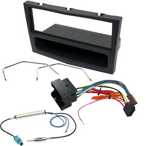 Vauxhall-Corsa-D-Astra-H-Zafira-B-Single-Din-Stereo-Radio-Fascia-Fitting-Kit