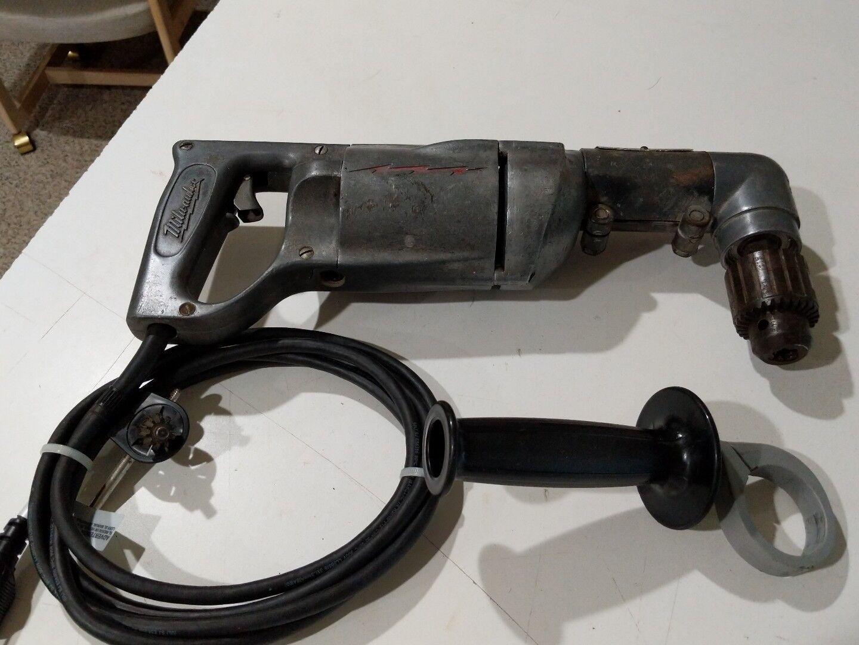 Milwaukee 1100, 1 2 in. Heavy Duty Right-Angle Drill Kit