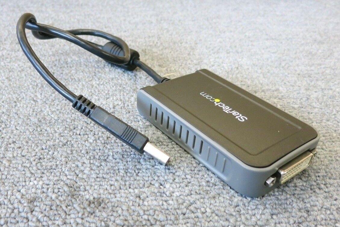 StarTech USB2DVIE2 USB to DVI External Dual or Multi Monitor Video Adapter