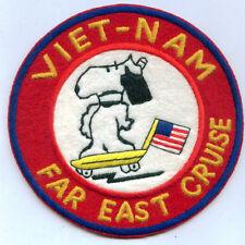 US Navy USMC Marines Vietnam Tour Cruise Far East ServiceFleet CV Snoopy Jacket