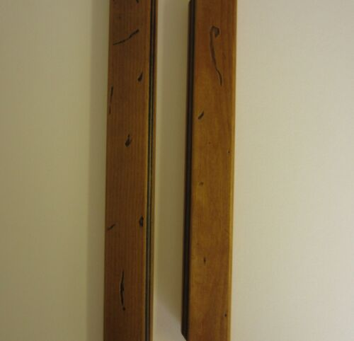 Antique Pine Wooden Multi Aperture Photo picture Frame 8x16 Holds 4x6 Photos