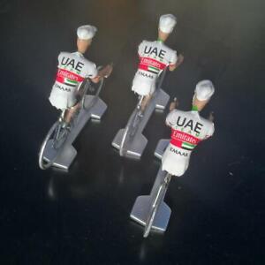 3-cyclistes-miniatures-Tour-de-france-Cycling-figure-UAE-Emirates-2019