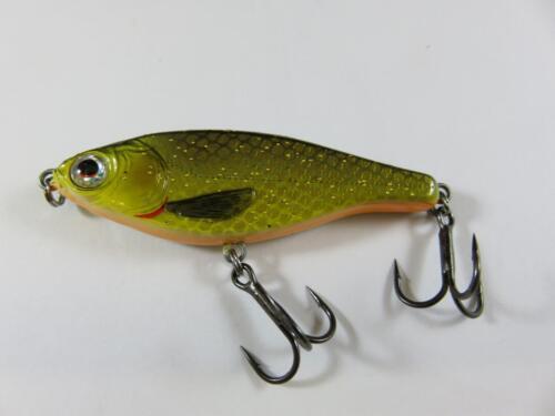 6cm savage gear roach jerkster dirty roach pêche brochet leurre 8G slow sink