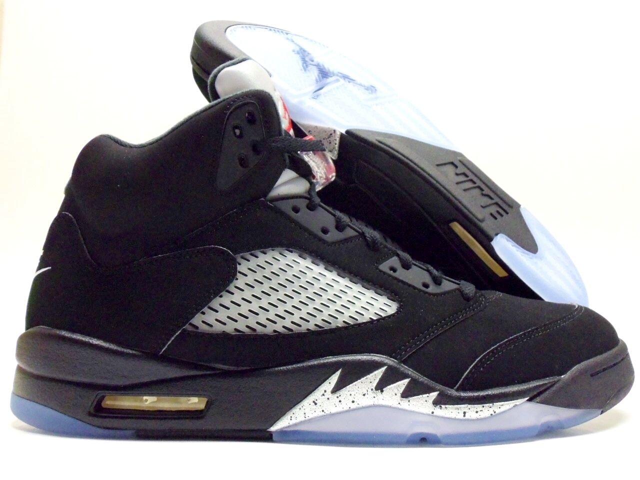Nike Air Jordan 5 retro Og Negro / / Negro Fire red-met Plata Talla Hombre 15 de reducción de precios baratos y de moda hermosa e0ce34
