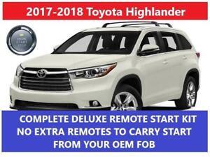 Image Is Loading Fits Toyota Highlander Plug Amp Play Remote Start