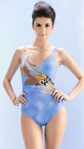 le Femme Moyen Contr Bain Seaspray De Crete Taller Maillot qnUw8x6OC