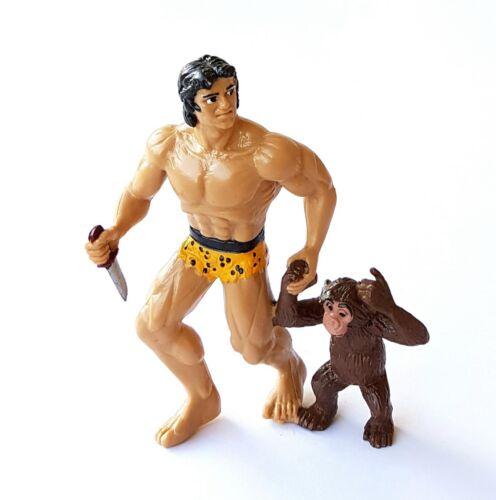 figur Collection Tarzan Disjorsa 1999 Tarzan und Cheetah 10 CM