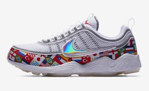 18e154a23d14 Nike Zoom Spiridon 16 NIC QS SZ 11 One World Cup International Flag ...