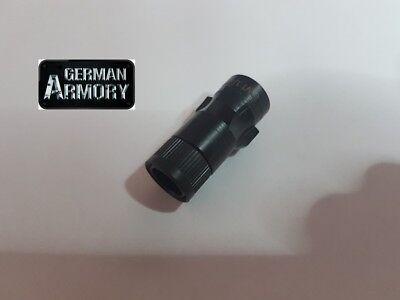 Adapter Gewehr,Schalldämpfer,Sechskant für einfaches Wechseln 2x Gewindemutter