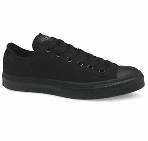 Converse Chuck Taylor All Star Ox Shoes Black Monochrome M5039C Sneaker Chucks UK 7