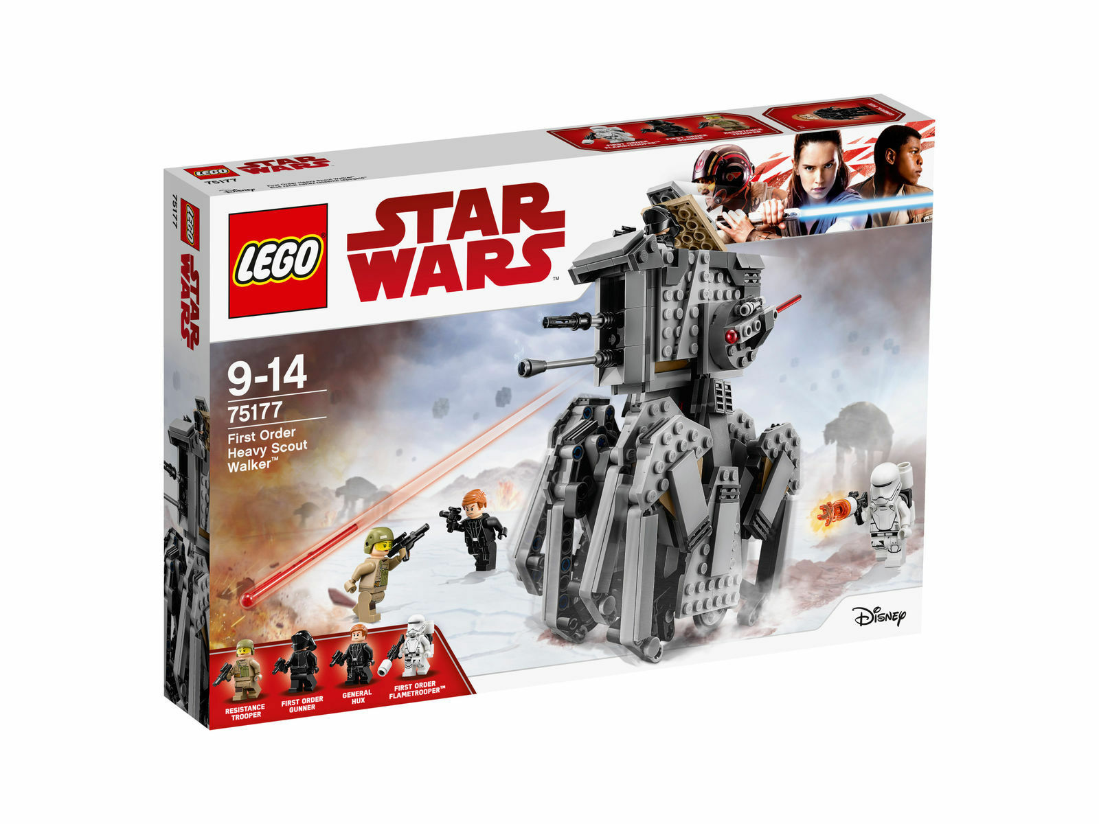 LEGO Star Wars (75177) - First Order Heavy Scout Walker