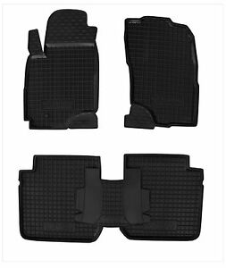 Rubber-Car-Floor-Mats-All-Weather-Alfombras-fit-Mitsubishi-OUTLANDER-2003-2008