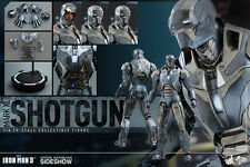 "Hot Toys Iron Man 3 MARK XL (40) SHOTGUN 12"" Action Figure 1/6 Scale MMS309"