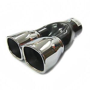 Exhaust Tip Trim Muffler Pipe Chrome Fits Toyota Auris Corolla Cellica Avensis
