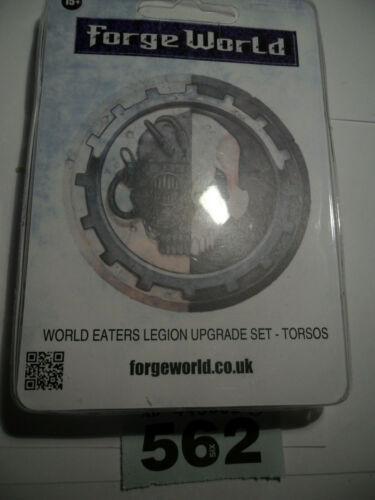 Warhammer  30k 40k World Eater Forgeworld Legion torsos Heresy rare oop B562